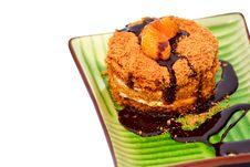 Free Honey Cake Royalty Free Stock Photo - 22481525