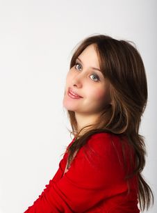 Free Portrait Of Pretty Girl Stock Photos - 22482523