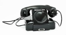 Free Old Phone For Internal Communication Stock Photography - 22483292