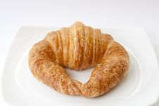 Free Fresh Croissant Royalty Free Stock Photo - 22483415