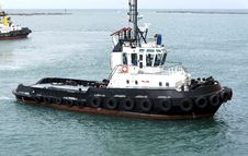 Free Tugboat Royalty Free Stock Photo - 22484175