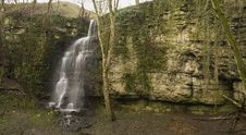 Free Eyam S Secret Waterfall Royalty Free Stock Image - 22484726
