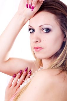 Free Skin And Beauty Care - Young Beautiful Female Stock Photography - 22489922