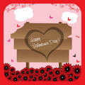 Free Wooden Plate For Valentine S Day Stock Photo - 22492450