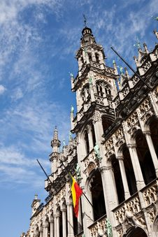 King S House In The Grand Place In Brussels Stock Photo
