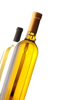 Free Group Of Wine Bottles Stock Photography - 22490202
