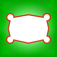 Free Green Winter Vector Background Royalty Free Stock Photography - 22493027