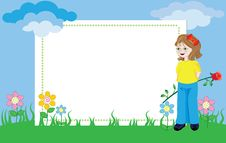 Free Photo Frame -Spring Time Stock Images - 22493224