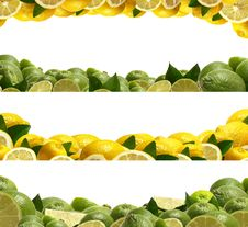 Free Lime And Lemon Royalty Free Stock Photography - 22494117
