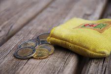 Some Euro Coins Stock Photos