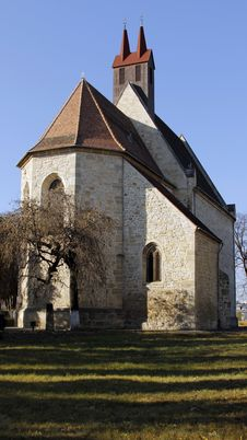 Free Fortified Church Manastur Stock Photography - 22495182