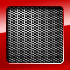 Free Metal Honeycomb Grid Royalty Free Stock Photography - 22495717