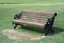 Free Garden Bench Royalty Free Stock Images - 22496189