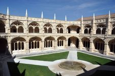 Free Monastery Courtyard Stock Photos - 22496583