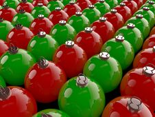 Free Christmas Spheres Royalty Free Stock Photography - 22497887