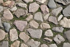 Cobblestone Surface Background Royalty Free Stock Images