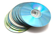 Free Many Different Cd S Royalty Free Stock Image - 22498996