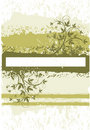 Free Flowers Grunge Banner Royalty Free Stock Photography - 2257517