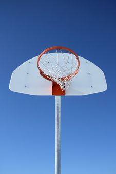 Free Basketball Backboard And Hoop Stock Photos - 2250413