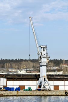 Free Lifting Crane Stock Photography - 2250712