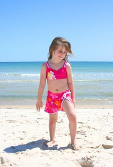 Free Beach Girl 2 Royalty Free Stock Images - 2252319