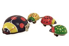 Lady Bug Family Stock Images