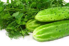 Free Cucumbers Stock Image - 2252441