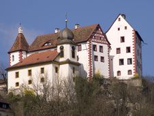 Free Castle And Church Egglofstein Stock Photo - 2252610