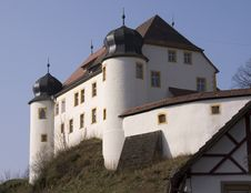Free Aufsess Castle Franconia Stock Images - 2252614