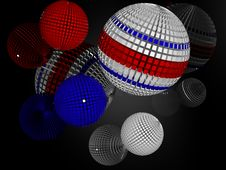 Free Spheres Royalty Free Stock Image - 2255176