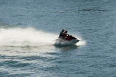 Free Jet Skiers And Blue Water Royalty Free Stock Photos - 2256338