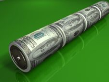 Free Dollar DC Batteries Stock Images - 2256464