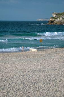 Bondi Beach Sydney Royalty Free Stock Photo