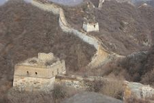 Free Great Wall, JianKou, Beijing Royalty Free Stock Photos - 2257388