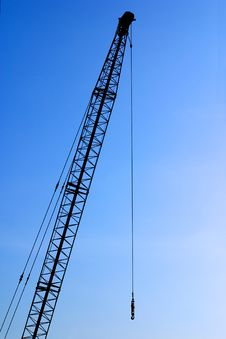 Free Crane Blue Stock Photo - 2259300