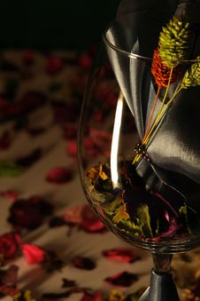 Free Mysterious Wine Glass Stock Photos - 2259973