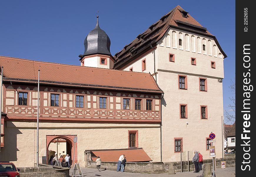 Castle in Forchheim