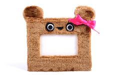 Free Brown Fluffy Photo Frame Stock Photo - 22501440
