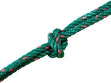 Free Green Rope Royalty Free Stock Photo - 22502445