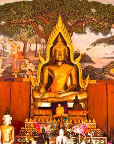 Free Buddha Statue Stock Photography - 22502462