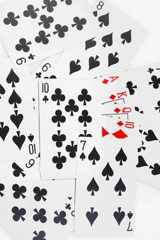 Free Game Cards Stock Image - 22503151
