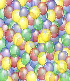 Free Balloon Background Royalty Free Stock Image - 22504006