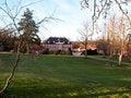 Free Big Beautiful Mansion House Estate Denmark Royalty Free Stock Images - 22513779