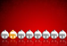 Free Christmas Balls Royalty Free Stock Images - 22512889