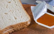 Free Bread And Jam Royalty Free Stock Photos - 22513818