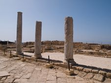 Free View Of The Old City Of Caesarea Israe Stock Images - 22513834
