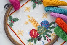 Free Cross-stitch Stock Photos - 22515343