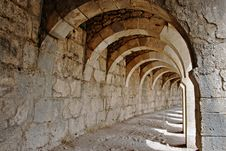 Aspendos Amphitheatre Royalty Free Stock Image