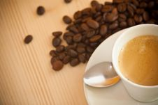 Free Cup Of Coffee Stock Image - 22516231