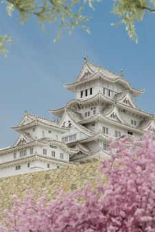 Free Japanese Pagoda Building. Stock Photo - 22517400